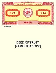 Deed of Trust [Certified Copy]